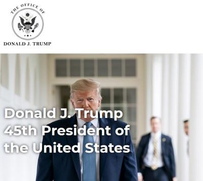 「來自川普書桌」美國前總統火爆浪子開官網與民眾互動